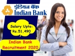 Indian Bank Recruitment 2020: வங்கி வேலைக்கு காத்திருப்போருக்கு முக்கிய அறிவிப்பு!