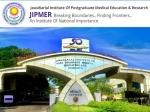 JIPMER Recruitment 2021: ரூ.1.10 லட்சம் ஊதியத்தில் ஜிப்பர் மருத்துவமனையில் வேலை வாய்ப்பு!