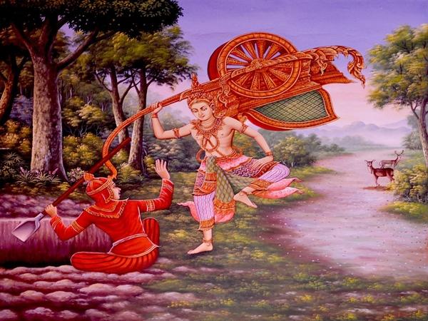ராமர் தீபாவளியை எங்கு முதலில் கொண்டாடினார் ?