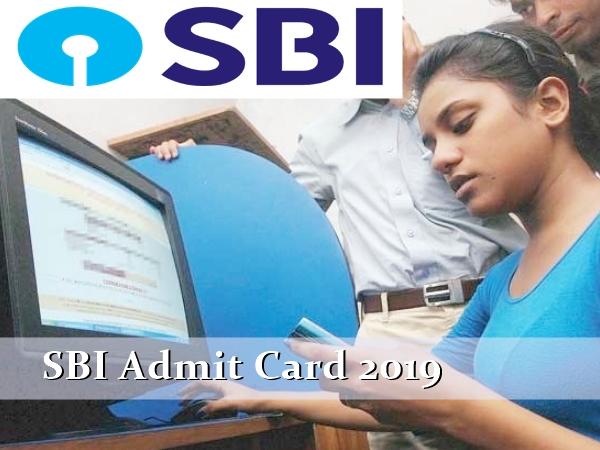 SBI Apprentice Admit Card 2019: எஸ்பிஐ தேர்விற்கான நுழைவுச் சீட்டு வெளியீடு!
