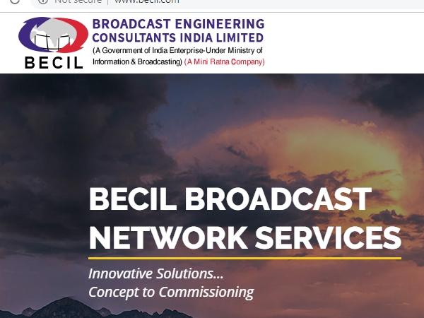 BECIL Recruitment 2020: ரூ.38 ஆயிரம் ஊதியத்தில் பிஇசிஐஎல் நிறுவனத்தில் வேலை!