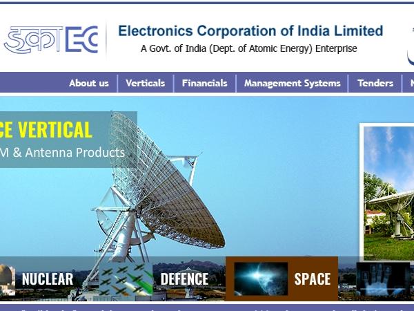 ECIL Recruitment 2020: பி.இ பட்டதாரிகளுக்கு மத்திய அரசு வேலை! நீங்க ரெடியா?