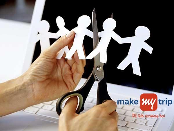 350 ஊழியர்களை பணி நீக்கம் செய்த MakeMyTrip!