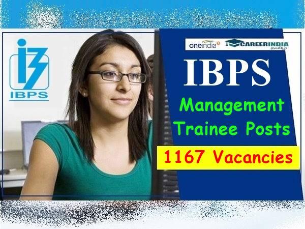IBPS 2020: 1,167 மத்திய அரசுப் பணிகளுக்கு விண்ணப்பங்கள் வரவேற்பு! IBPS அறிவிப்பு!!