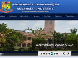 Annamalai University Will Release Be Course Random Numbers On June