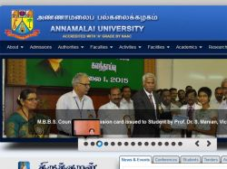 Random Numbers Released B Sc Agri Annamalai University