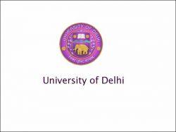 Delhi University Increase Undergraduate Intake 2 330 Students
