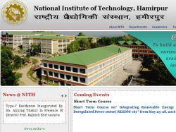 Nit Hamirpur Admissions 2016 Apply Mba Programme
