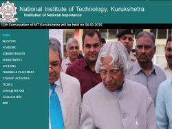Mba Admission At Nit Kurukshetra 2016 Registration Begins