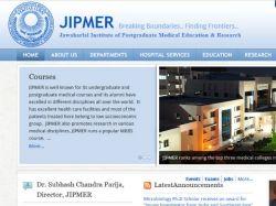 Jipmer Puducherry Opens Admissions Md Ms Programmes