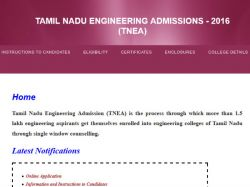 Anna University Offers Admissions B E B Tech Courses