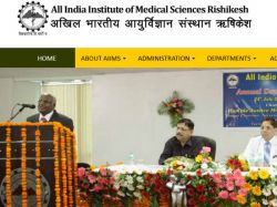 Aiims Rishikesh Is Hiring 2016 Vacancies 70 Junior Resident