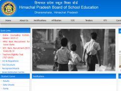 Himachal Pradesh Board Class 12 Results 2016 Declared