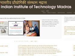 Iit Madras Hsee Result Date Released