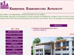 Karnataka Cet 2016 Be Held On May 04 05