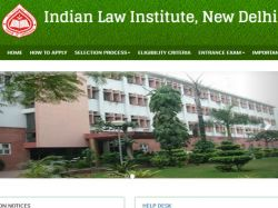 Indian Law Institute Offers Admissions Ll M Ph D Programmes