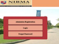 Nirma University Invites Applications B Tech Programmes