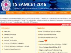 Ts Eamcet 2016 Results Declared On The Official Website