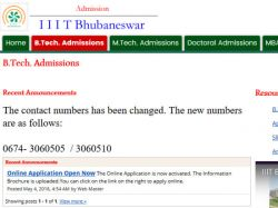 Iiit Bhubaneswar Admissions 2016 Apply B Tech Programmes