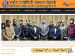 Nit Delhi Offers Admission Ph D Programmes