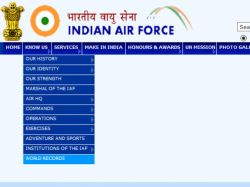 Indian Air Force Iaf Recruitment Commissioned Officer Post