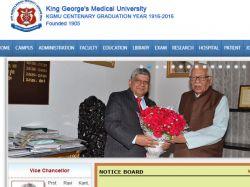 King George S Medical University Opens Admission B Sc Nursin