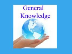 General Knowledge Questions 20 04