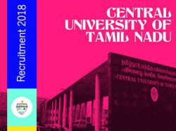 Central University Of Tamil Nadu Invites Application For Various Post