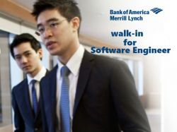 Bank America Hiring For Senior Software Engineer