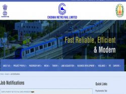 Cmrl Recruitment 2018 Applications Invited Assistant Posts