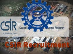 Csir 2018 Recruitment Notification Has Been Released Nationa