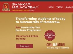 Sankar Ias Academy Conduct Tnpsc Mock Test On Nov