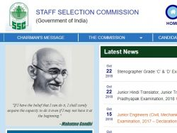 Ssc Stenographer 2018 Recruitment Application Form Apply N