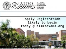 Aiims Mbbs 2019 Registration Likely Begin Today At Aiimsexa