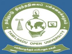 Tamil Nadu Open University Chennai Admission Phd Programmes