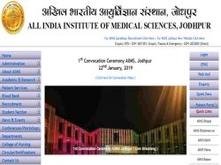 Aiims Recruitment 2019 Apply 37 Vacancies