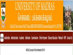 Madras University Recruitment 2019 Apply Online 02 Guest L