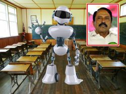 Robots Will Teach Special Children Tamil Nadu Education Minister Sengottaiyan