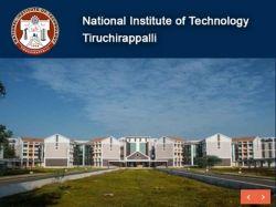 Nit Trichy Recruitment 2019 Assistant Professor 134 Posts Ap