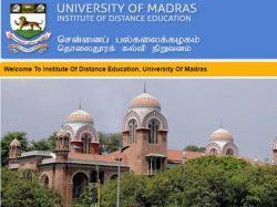 Chennai University Distance Education Exam Result Today