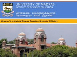 Madras University Ide Result 2019 Latest Ug Pg Semester Resu
