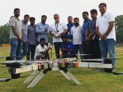 Anna University Uav Sets World Record