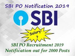 Sbi Po Notification 2019 2020 Sbi Po Recruitment Exam Date