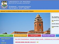 Madras University Recruitment For Junior Research Fellow Jr