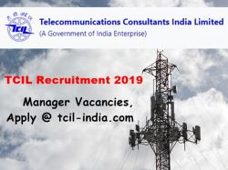 Tcil Recruitment 2019 51 Manager Vacancies Apply Tcil In