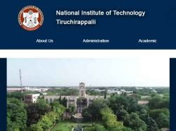 Nit Trichy Recruitment 2019 Apply For Latest Job Vacancies