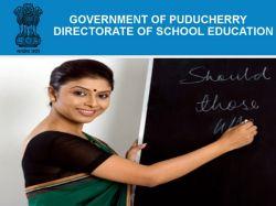 Puducherry Teacher Recruitment 2019 315 Guest Balasevikas