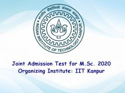 Iit Jam 2020 Iit Kanpur Notice Released Application Date