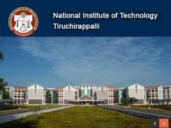 Nit Trichy Recruitment 2019 Apply For Senior Research Fellows