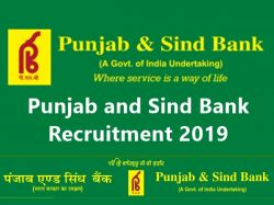 Punjab And Sind Bank Recruitment 2019 Apply Online For Specialist Officer At Psb India Com